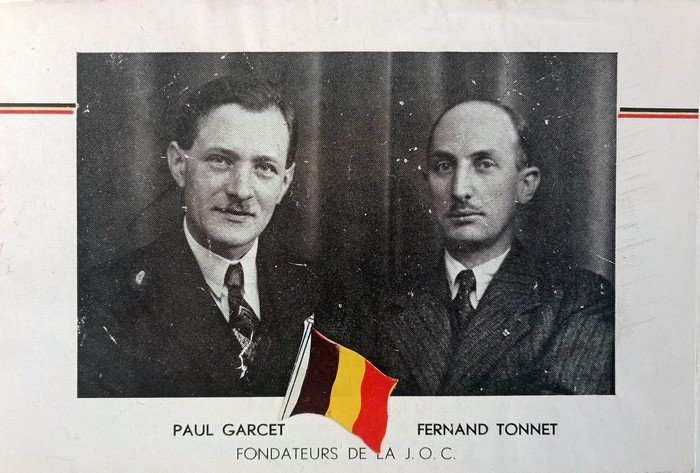 Fernand Tonnet and Paul Garcet – 75 years