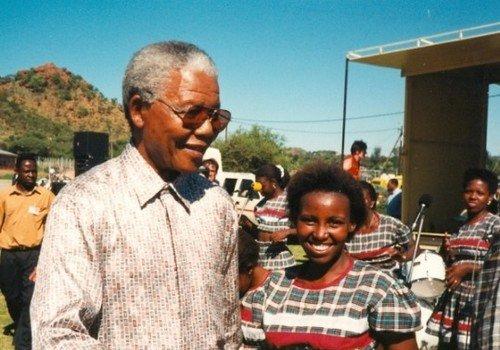 Nelson Mandela at IYCW World Council 1995