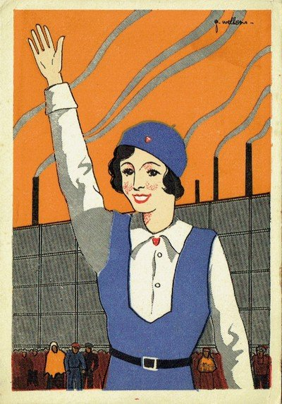 Early YCW postcard