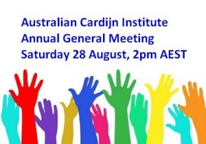 Read more about the article ACI AGM Online, Saturday 28 August 2021